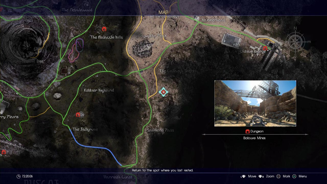 Final Fantasy Xv All Dungeon Locations