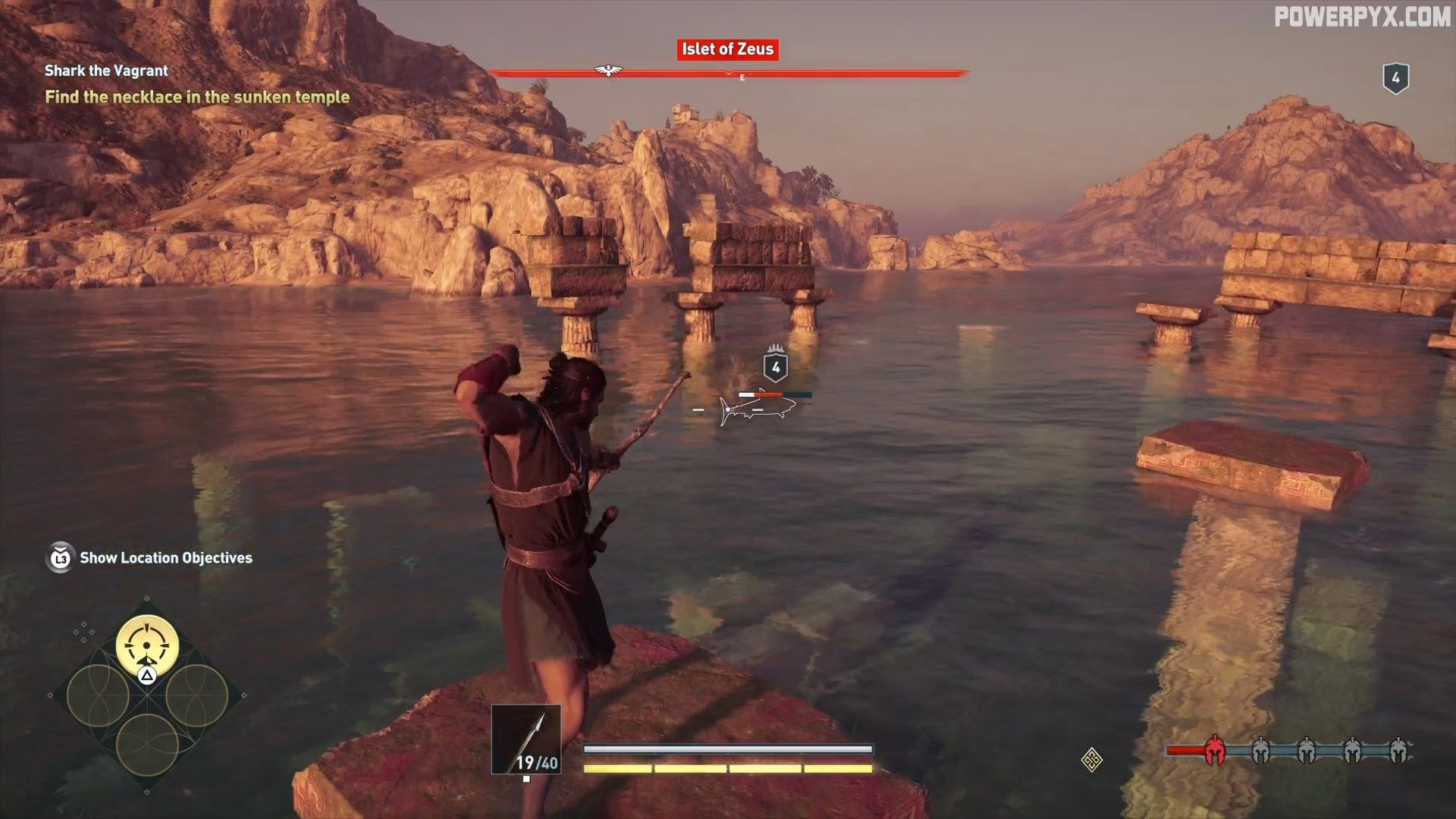 Assassin S Creed Odyssey Shark The Vagrant Side Quest Walkthrough