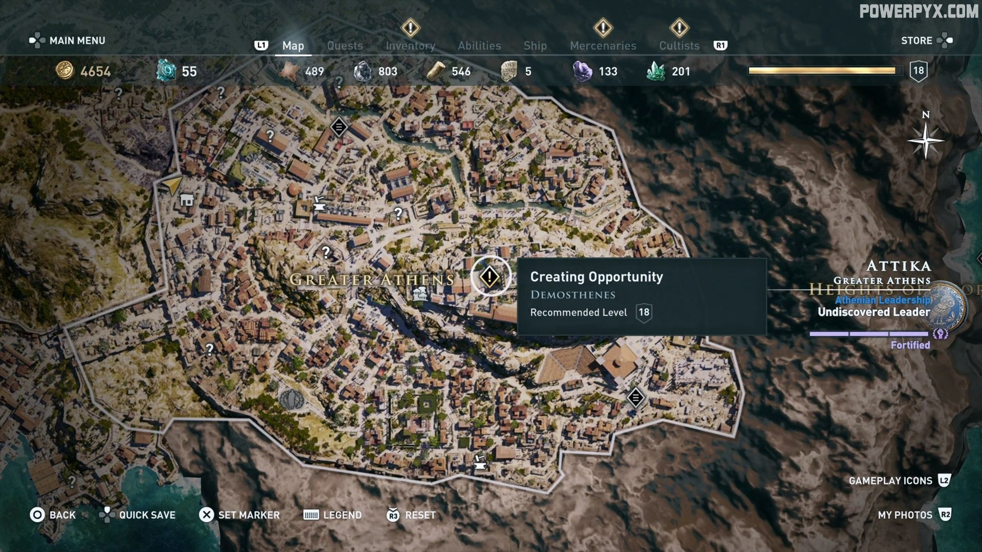 Assassin's Creed Odyssey The Wise Warrior Side Quest ...