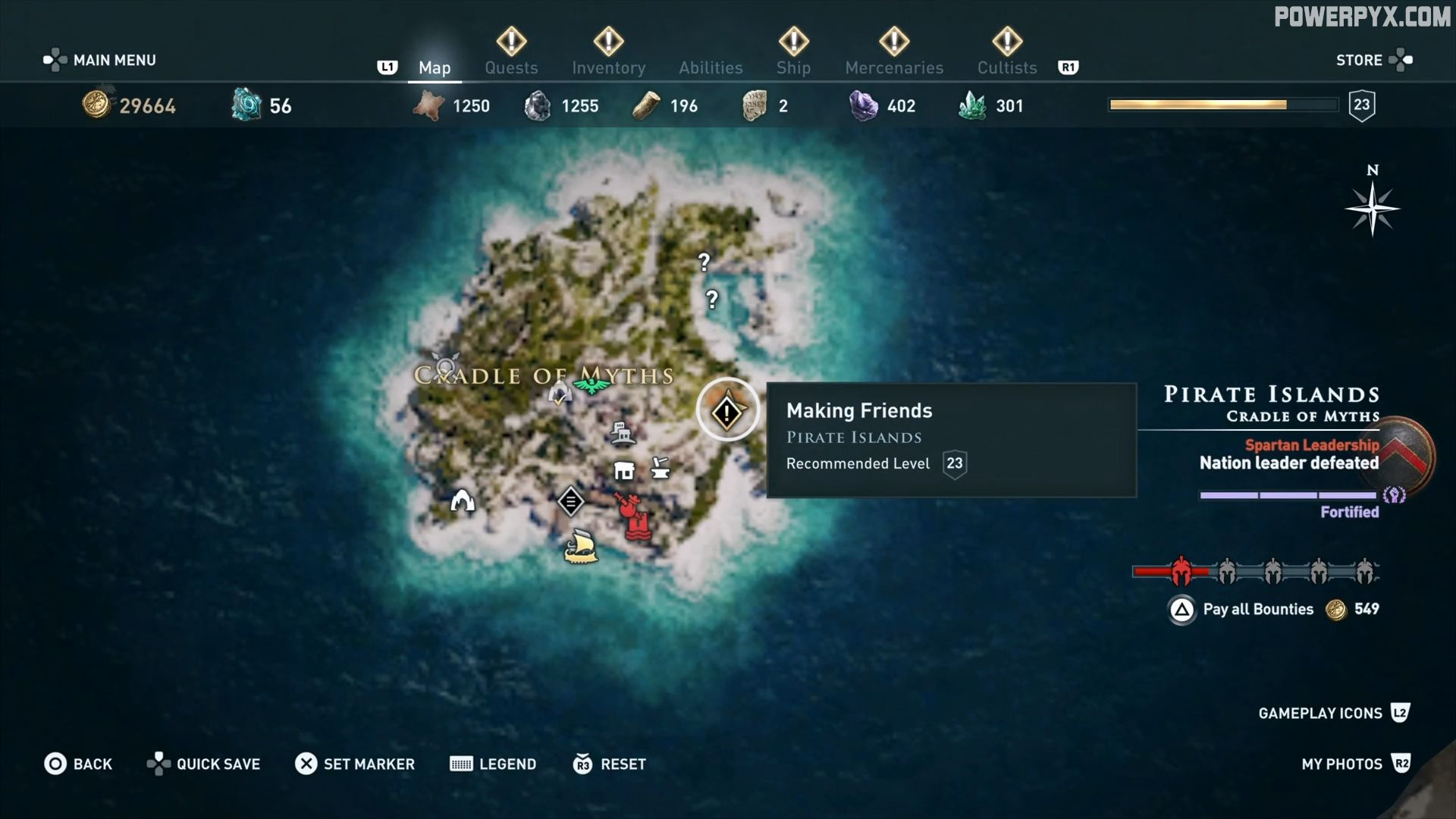 Assassin S Creed Odyssey Making Friends Side Quest Walkthrough