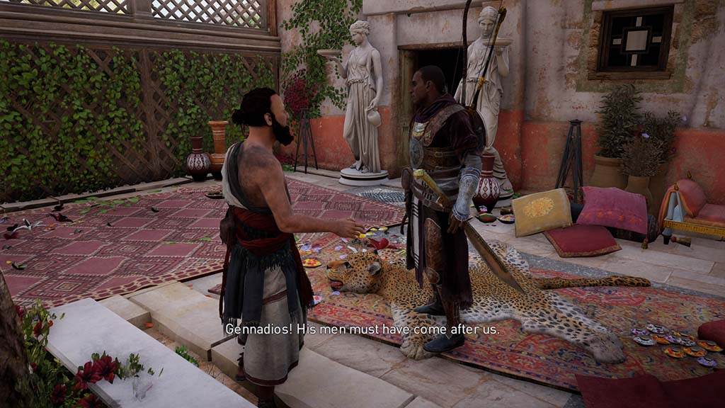 Assassin's Creed Origins Symposiasts Side Quest Walkthrough