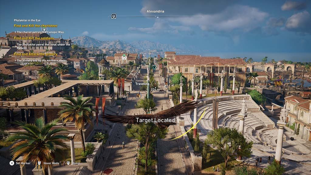 assassins creed origins how to find the snake