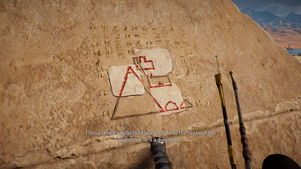 Assassin's Creed Origins Secrets of the First Pyramids Side
