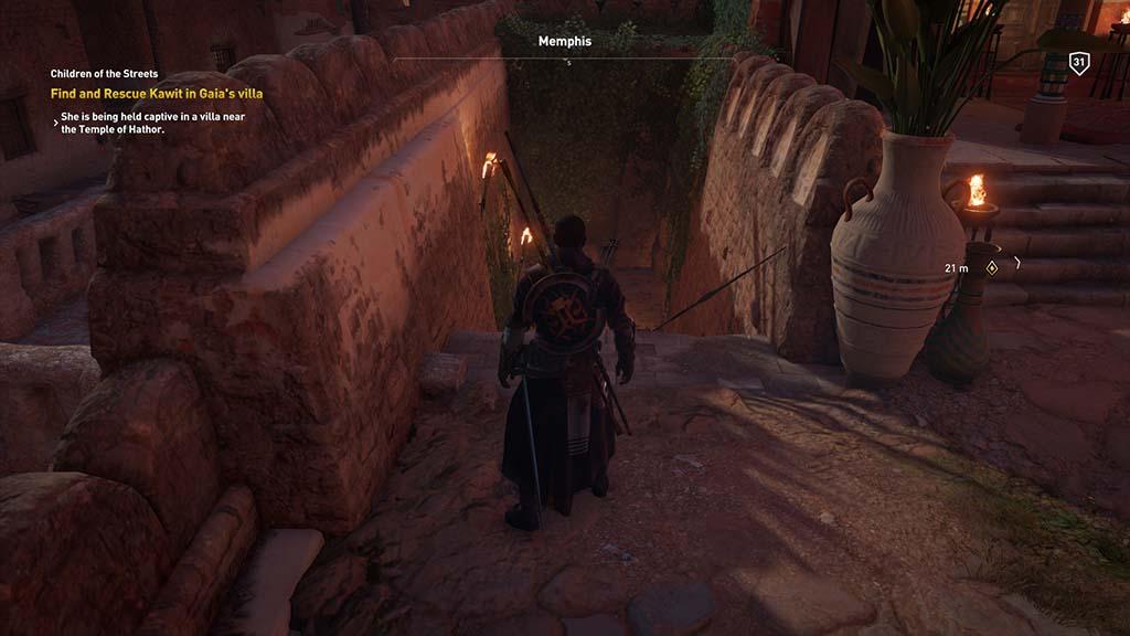 Assassin S Creed  Villa Basement