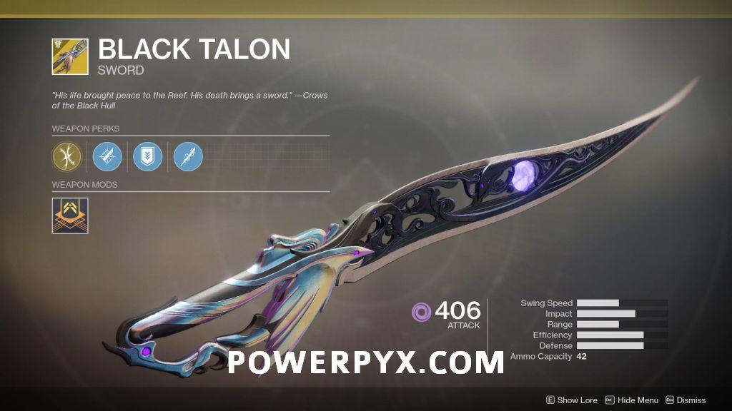 how to get exotic sword destiny 2