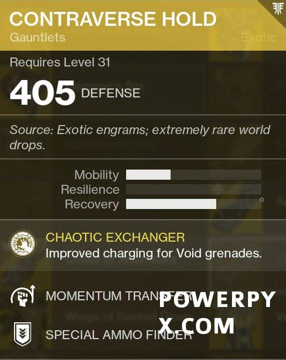 destiny 2 forsaken warlock exotics