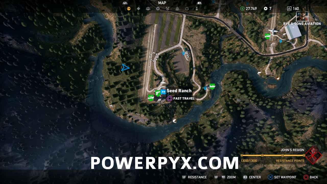 Far Cry 5 All Silo Locations