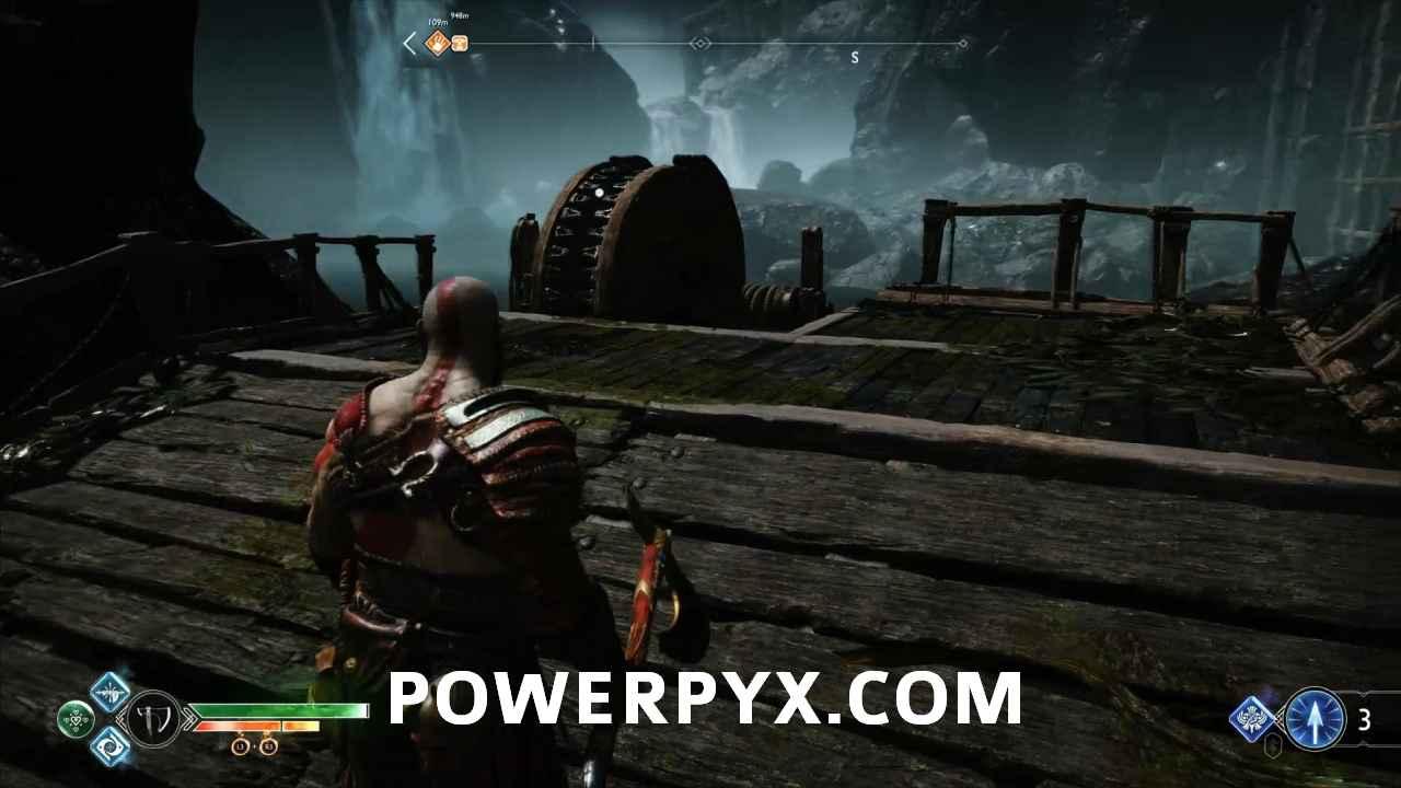 God of War - The Magic Chisel Walkthrough