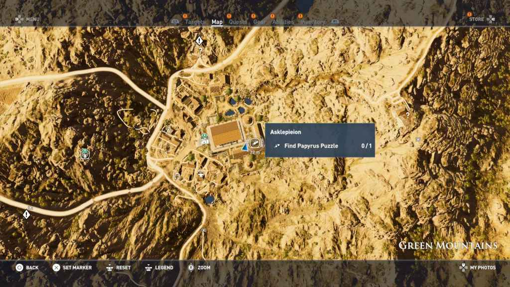 in's Creed Origins Papyrus Puzzle Solutions & Locations on