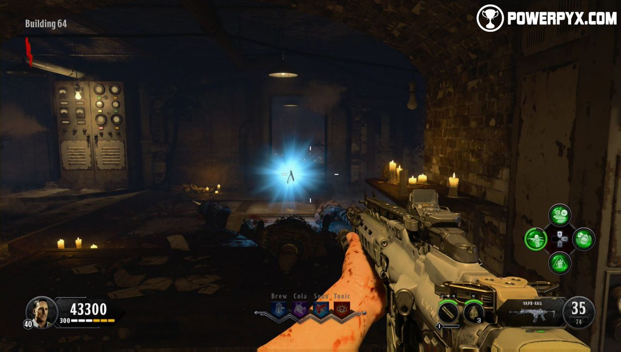 COD BO4: Blood of the Dead - How to Build the Zombie Shield