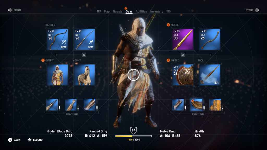 Assassin S Creed Origins All Outfits