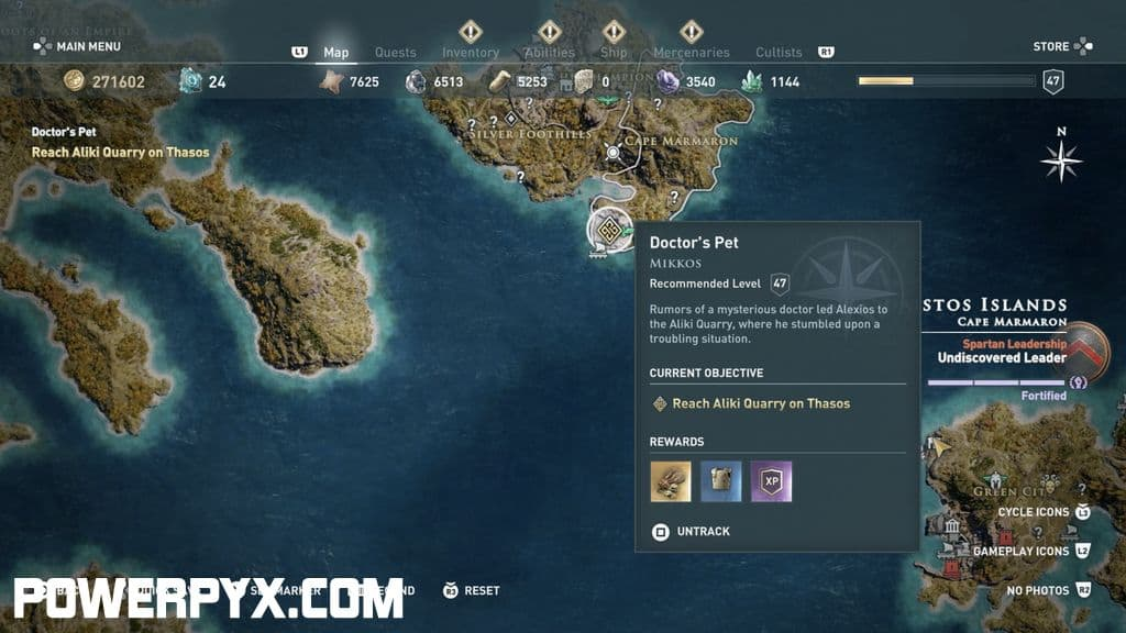 Assassin S Creed Odyssey Doctor S Pet Side Quest Walkthrough