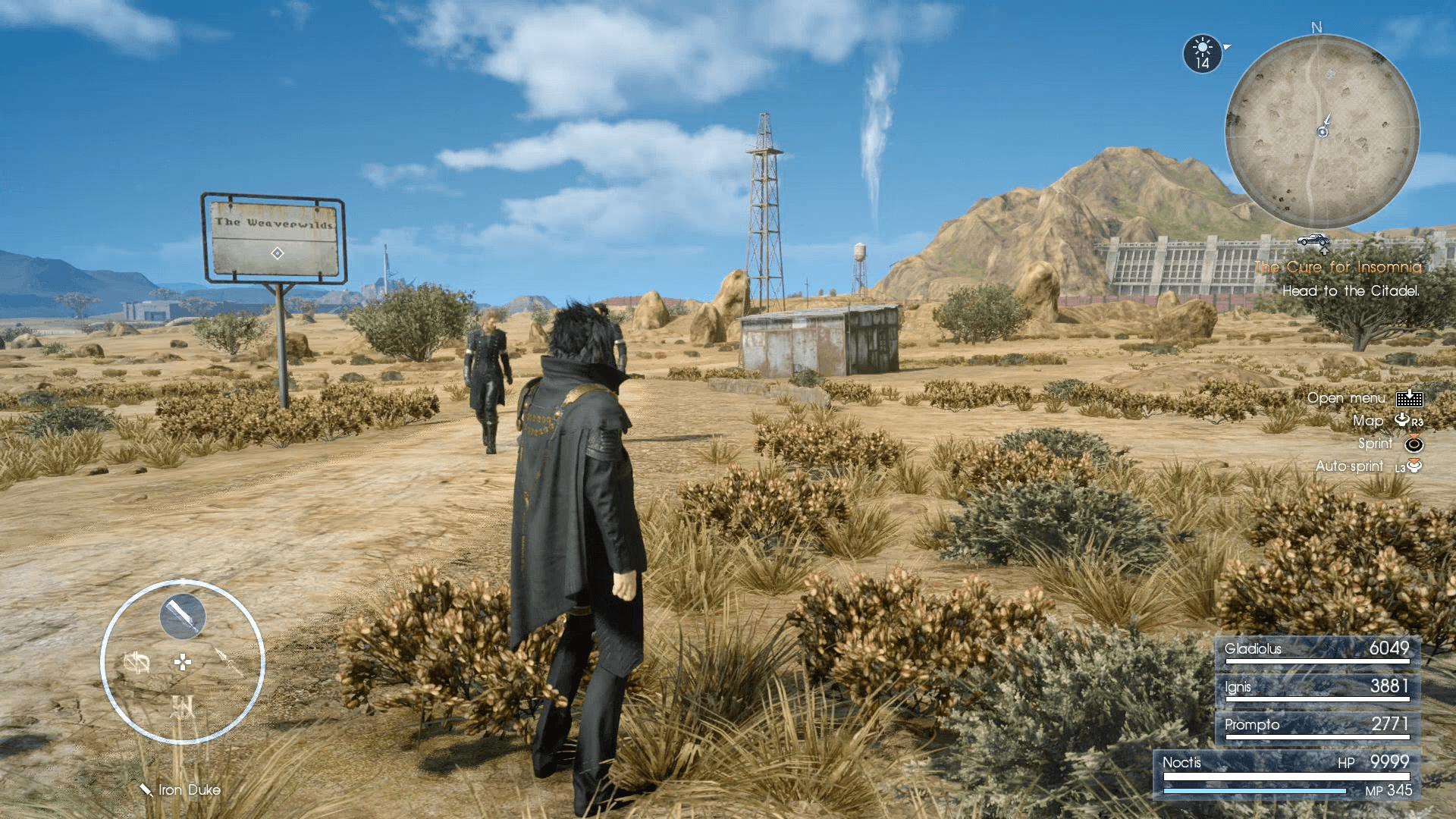 Final Fantasy XV - Unlimited AP Exploit (Farming Method)