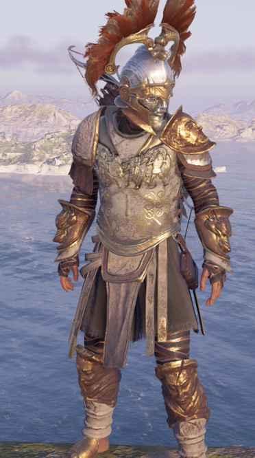 Assassin's Creed Odyssey Legendary Armor Sets Locations