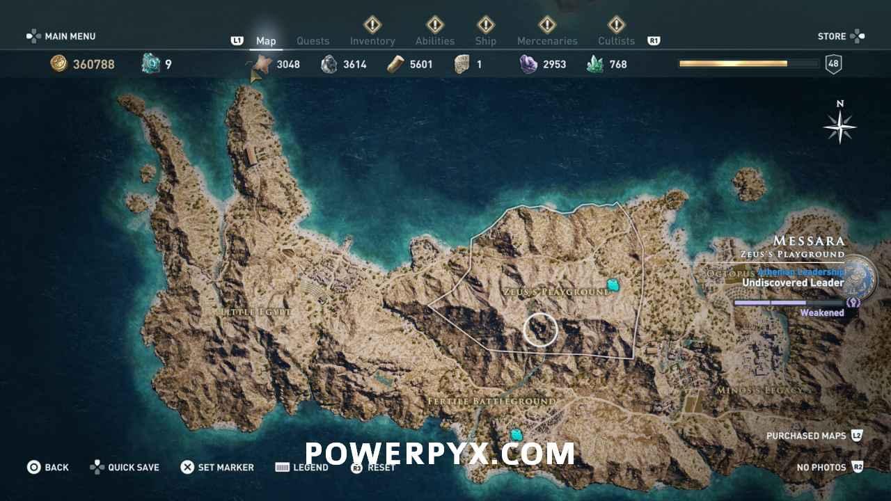 Artefakt In Messara Assassin S Creed Odyssey Artifact Locations