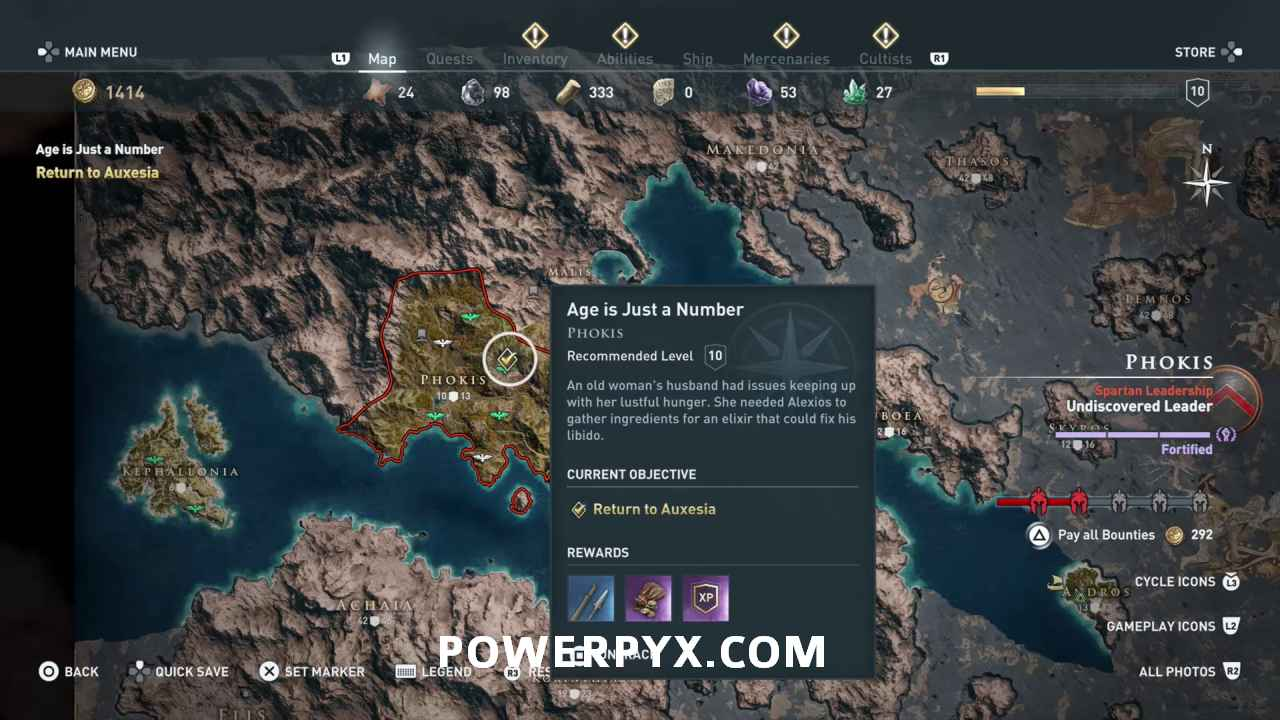Assassin's Creed Odyssey Trophy Guide & Roadmap