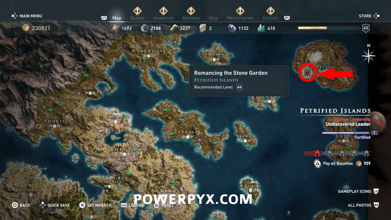 Assassin S Creed Odyssey How To Enter Petrified Temple