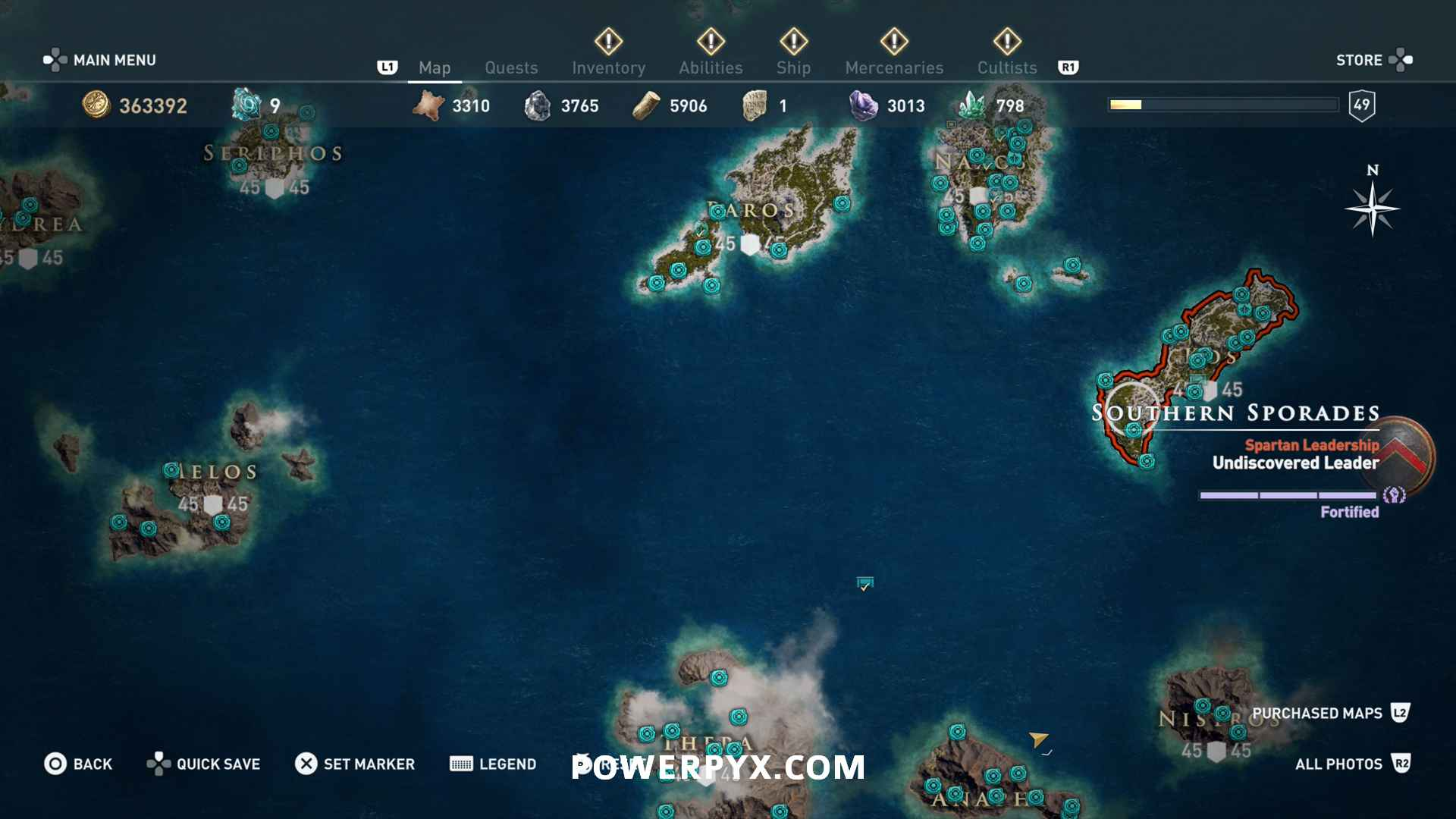 Assassin S Creed Odyssey Karte.Assassin S Creed Odyssey Orichalcum Fragment Locations Map