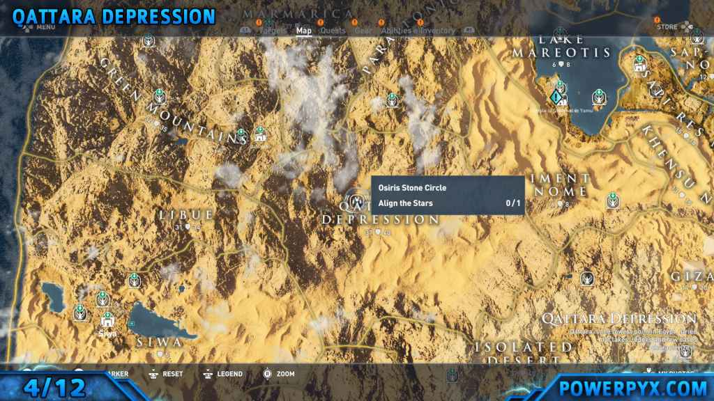 Assassin S Creed Origins All Stone Circle Locations Bayek S Promise Side Quest Guide