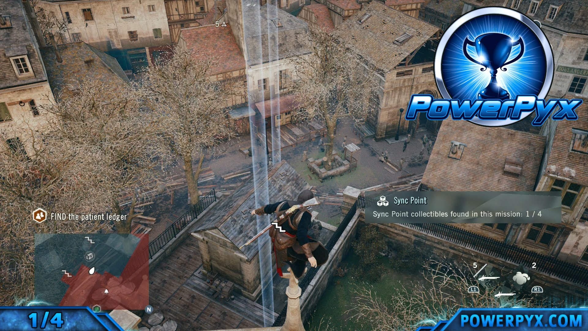 Assassin S Creed Unity All Sync Point Locations Co Op Skill