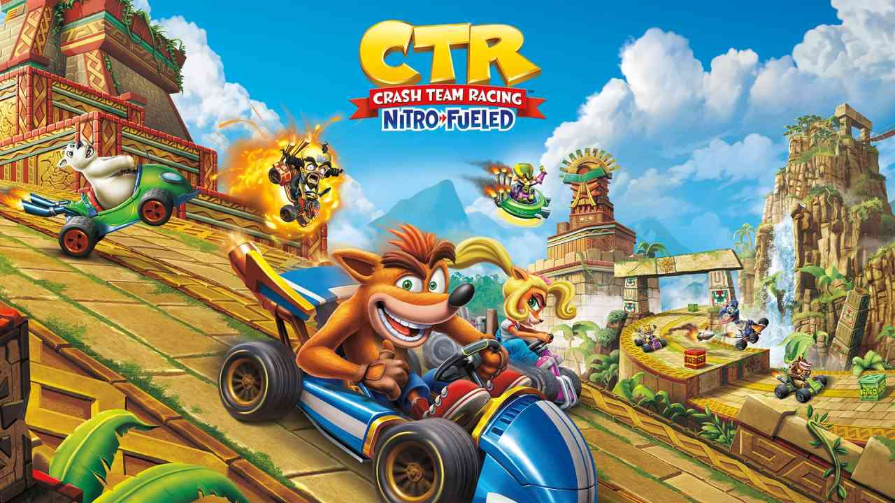 Crash Team Racing Nitro-Fueled All Characters (PS4, Xbox, Switch)