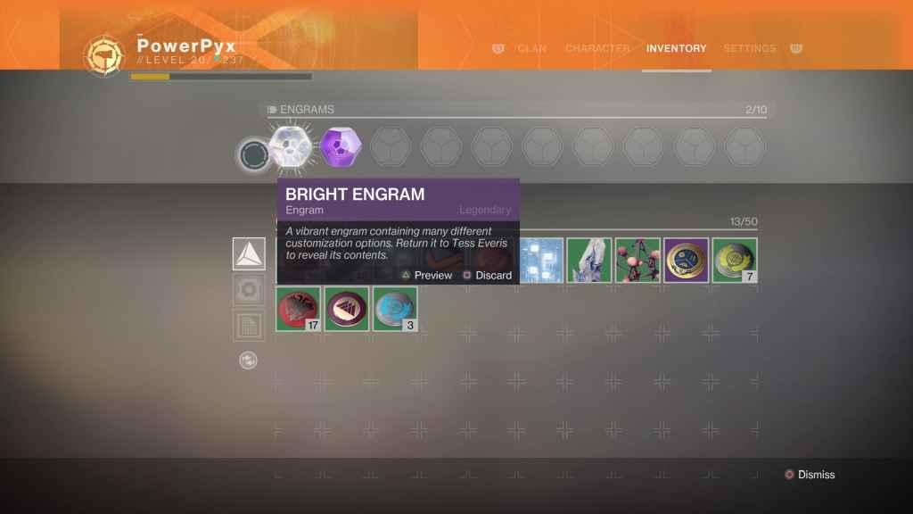 Destiny 2 Bright Engrams, How to Get & Use Them