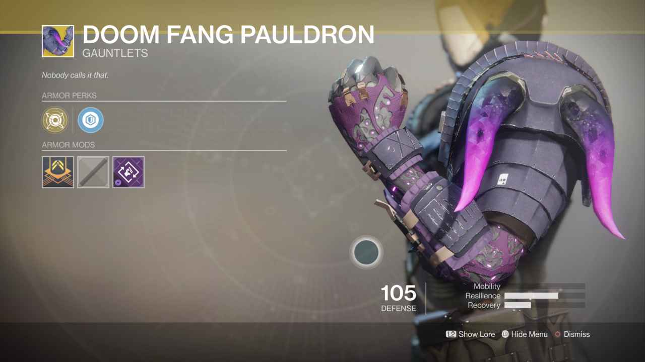 Cayde can suck a D*** Destiny-2-exotic-doom-fang-pauldron-2