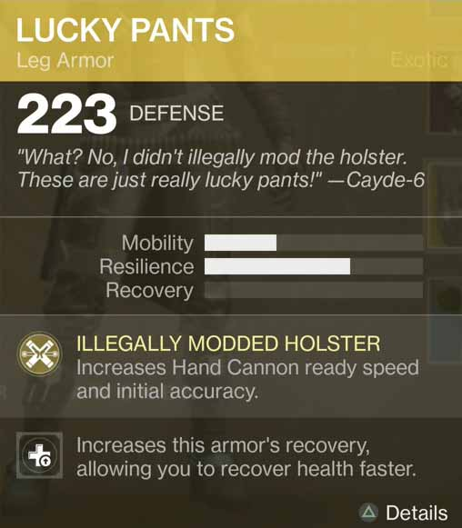 Lucky Pants Hunter Leg Armor Wired4games
