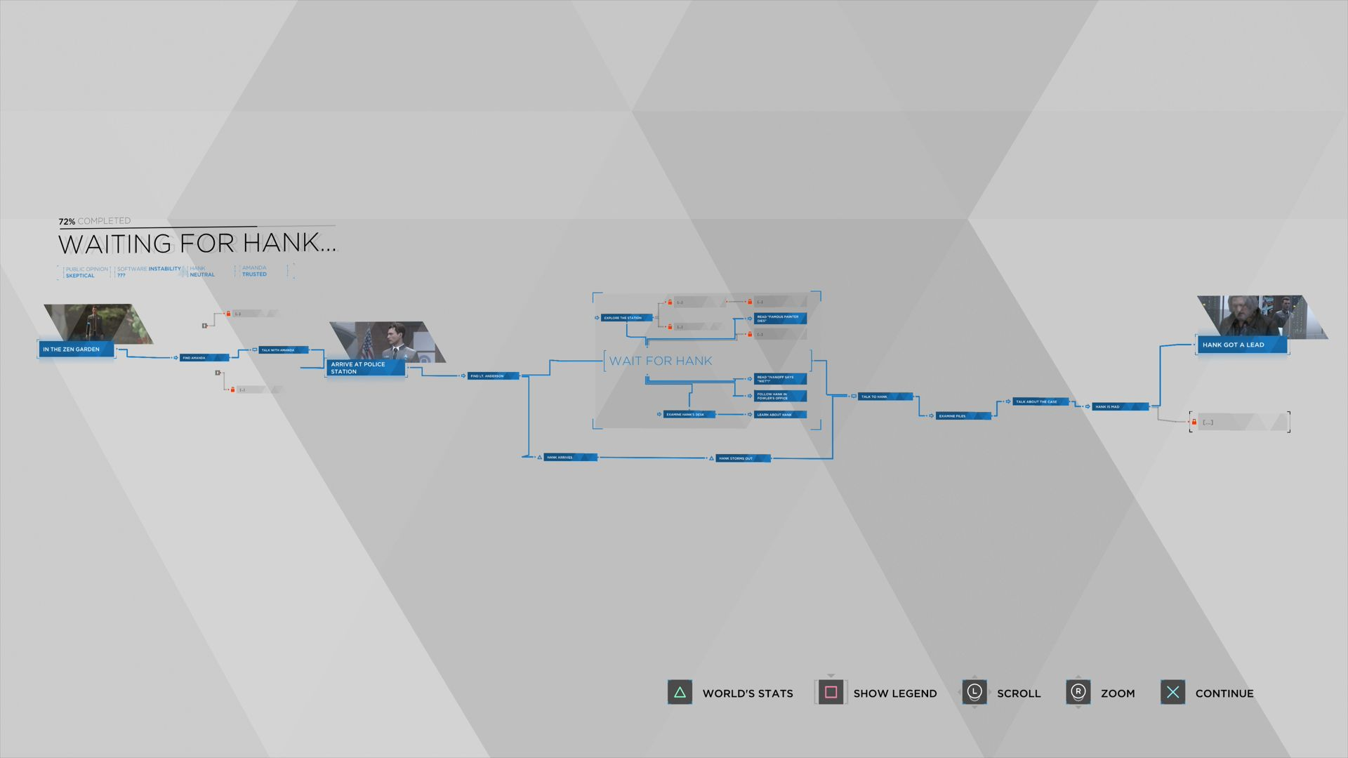 detroit become human trophy guide