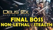 Deus Ex Mankind Divided – Viktor Marchenko Boss Fight – Non-Lethal / Stealth / No Alarms