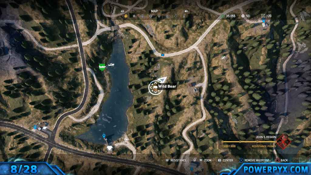 Far cry 5 all animals fish locations hunting spots for Where to buy fish