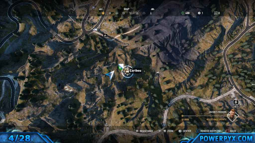 Far cry 5 all animals fish locations hunting spots hard fishing 4 caribou 138 gumiabroncs Images