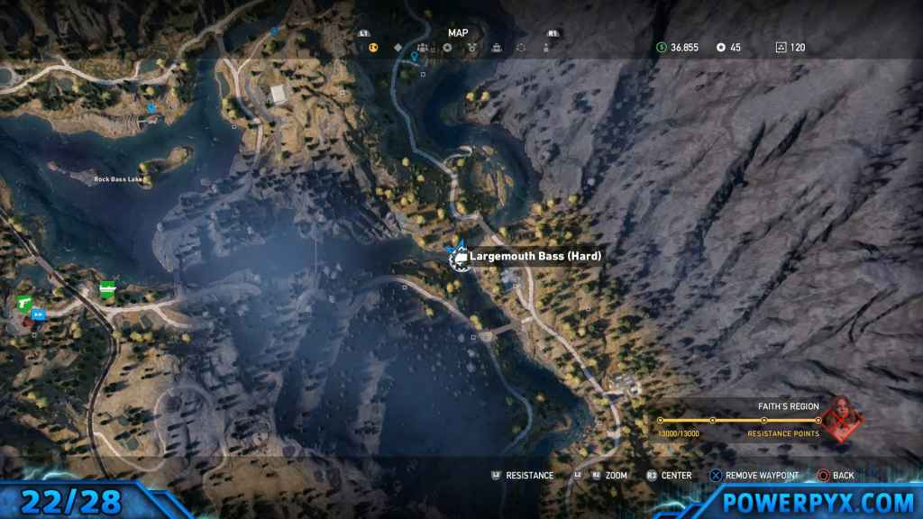 Far cry 5 all animals fish locations hunting spots hard fishing 23 bull trout 926 gumiabroncs Images