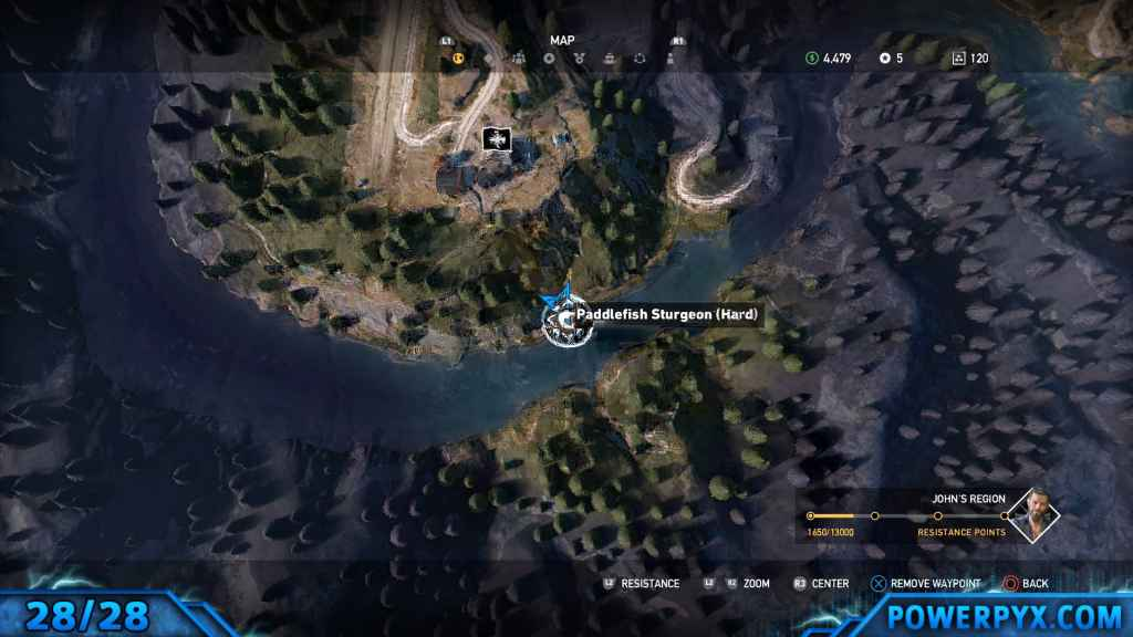 Far cry 5 all animals fish locations hunting spots hard fishing remember for trophy been there done that you must actually complete all hunting challenges catching just one of each animal wont suffice gumiabroncs Choice Image