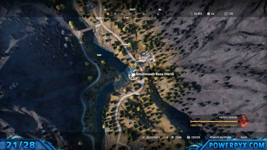 Far cry 5 all animals fish locations hunting spots hard fishing 21 smallmouth 854 gumiabroncs Images
