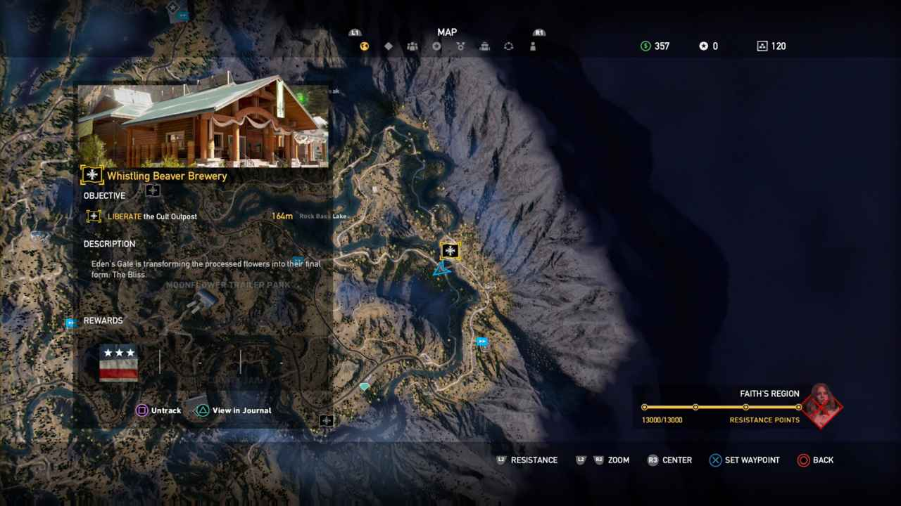 Far Cry 5 All Outpost Locations