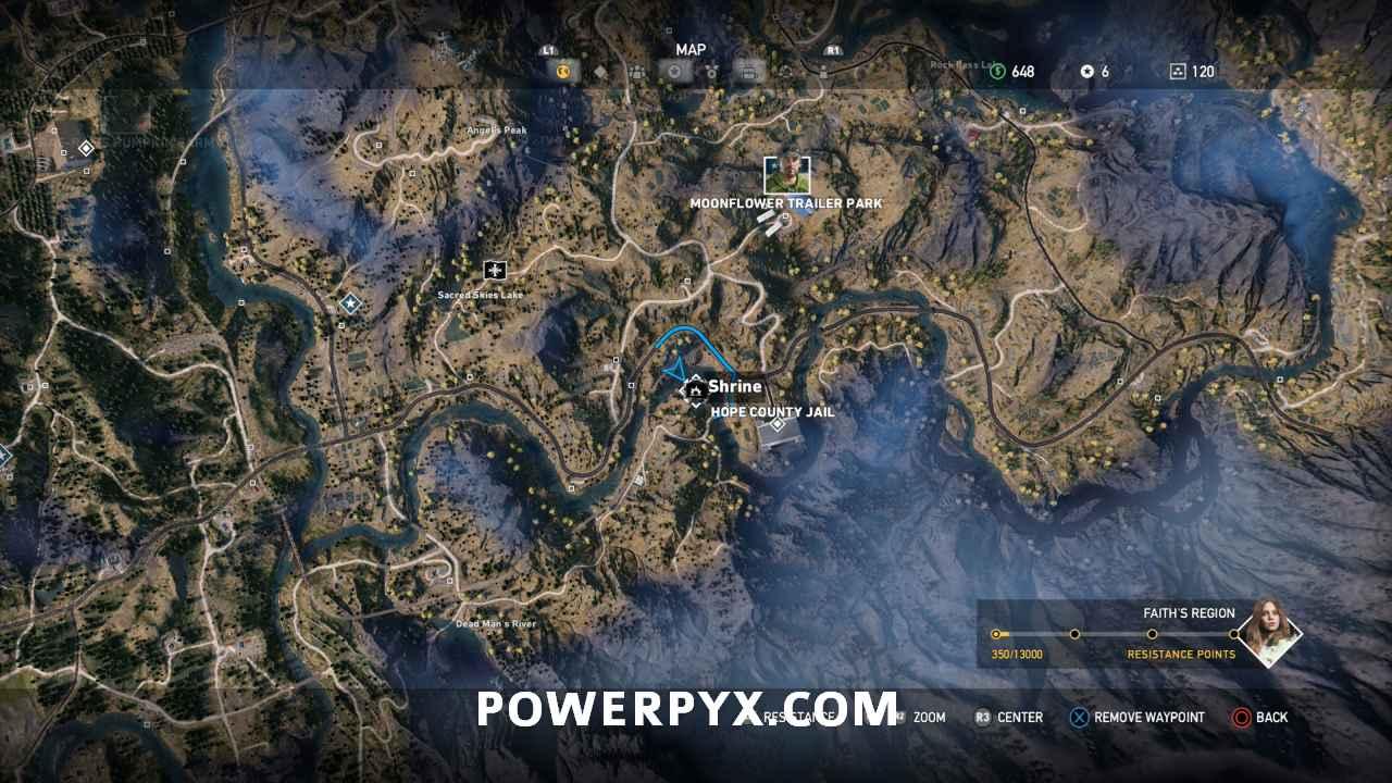 Far Cry 5 All Shrine Locations