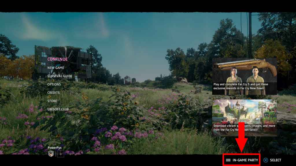 Far Cry New Dawn How To Invite Friends To Co Op
