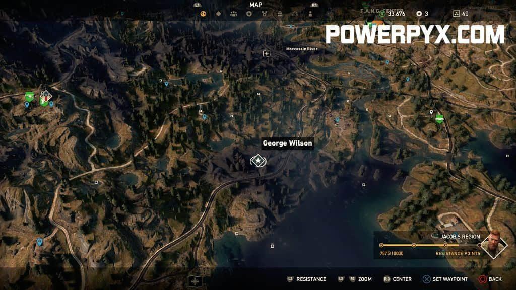 Far Cry 5 Full Map: Grand Slam Side Mission Walkthrough