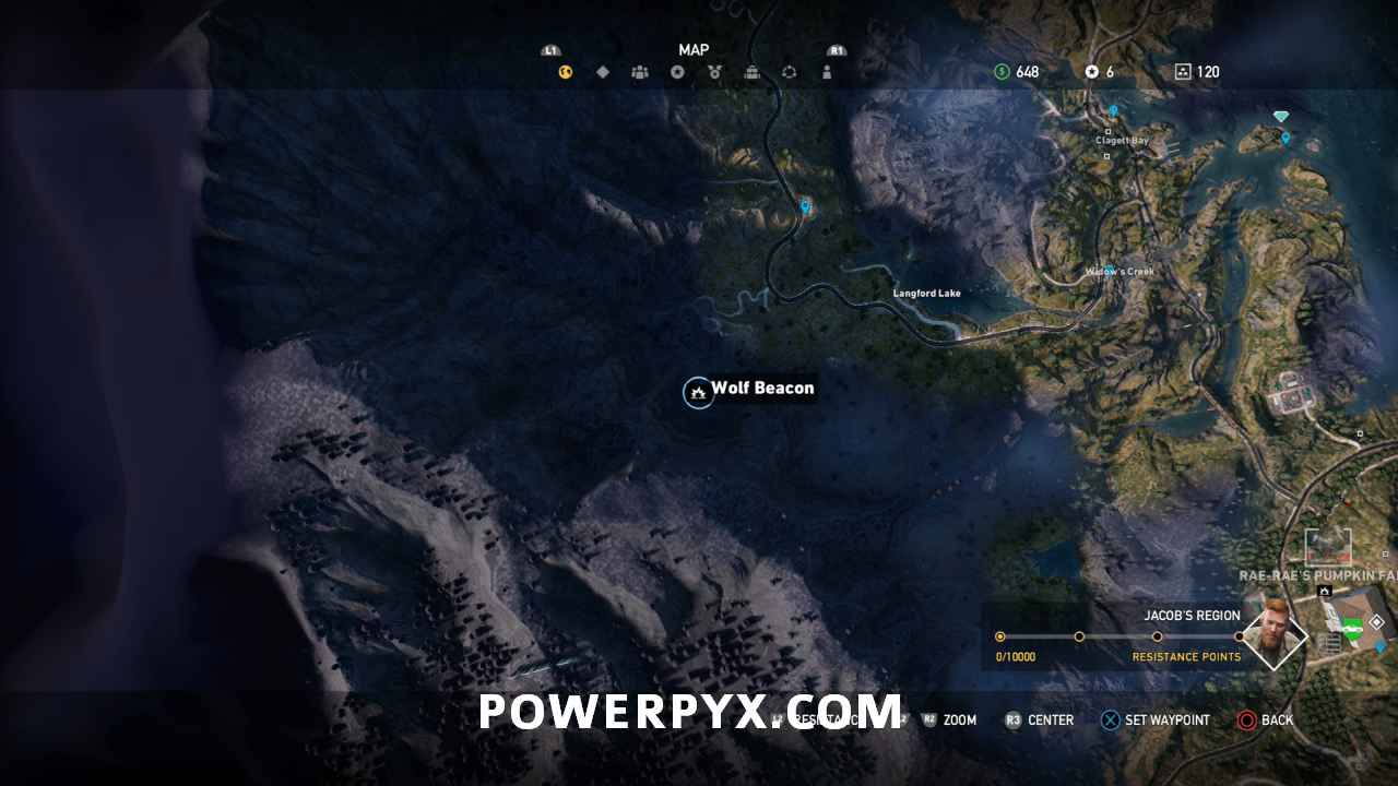Far Cry 5 All Wolf Beacon Locations Cult Properties