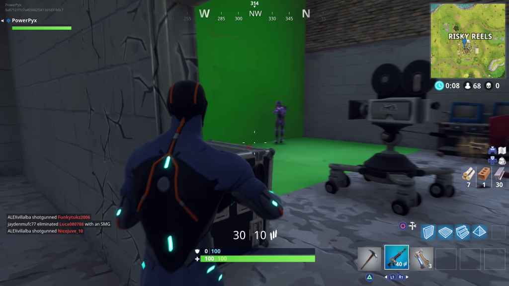 film kameras fortnite