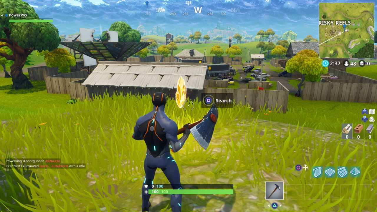 Fortnite How Do You Place An Enemy Marker Fortnite Season 4 Week 2 Challenges