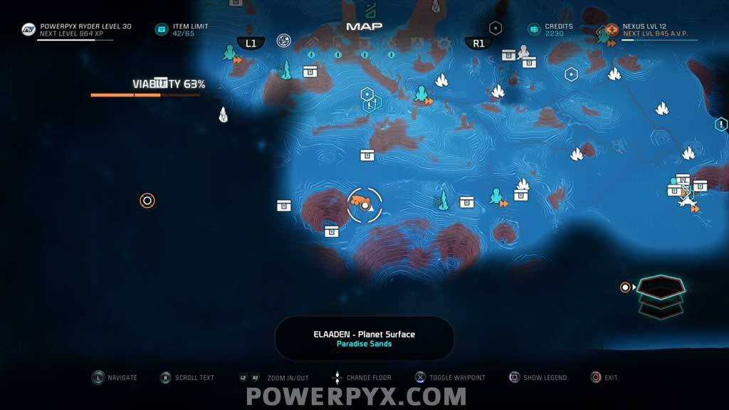 M Effect Andromeda Glyph Puzzle Solutions & Locations on