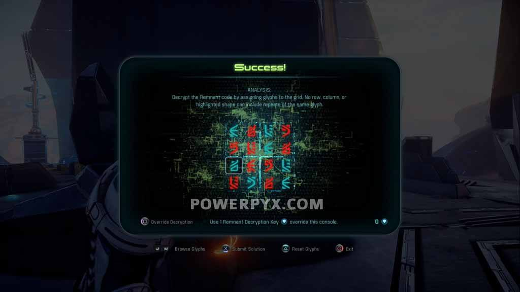 Mass Effect Andromeda Glyph Puzzle Solutions & Locations