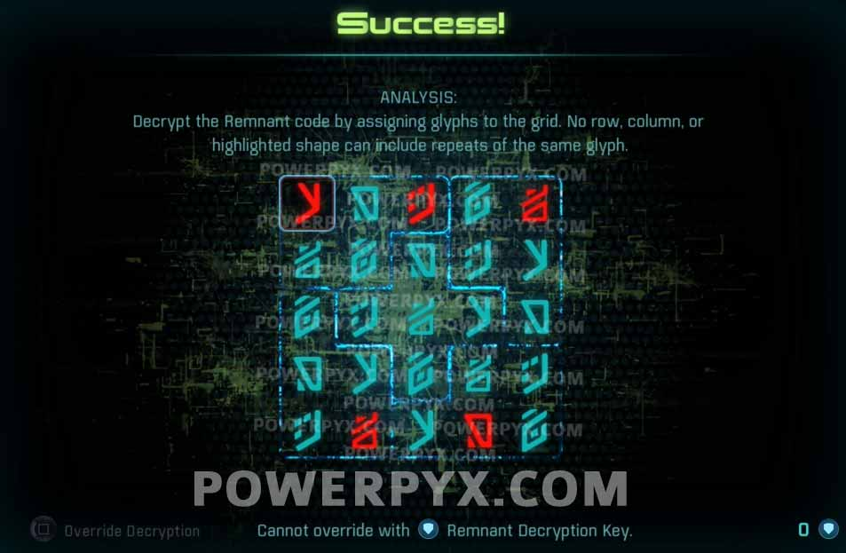 remnant decryption solutions