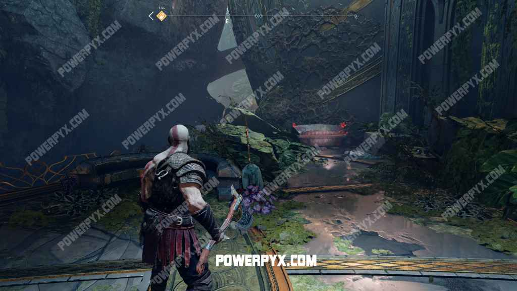 God of War Runic Armor Set Location (Alfheim)