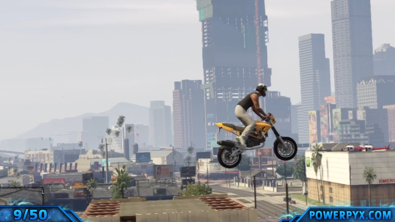 Grand Theft Auto V Gta V All Monster Stunt Jumps