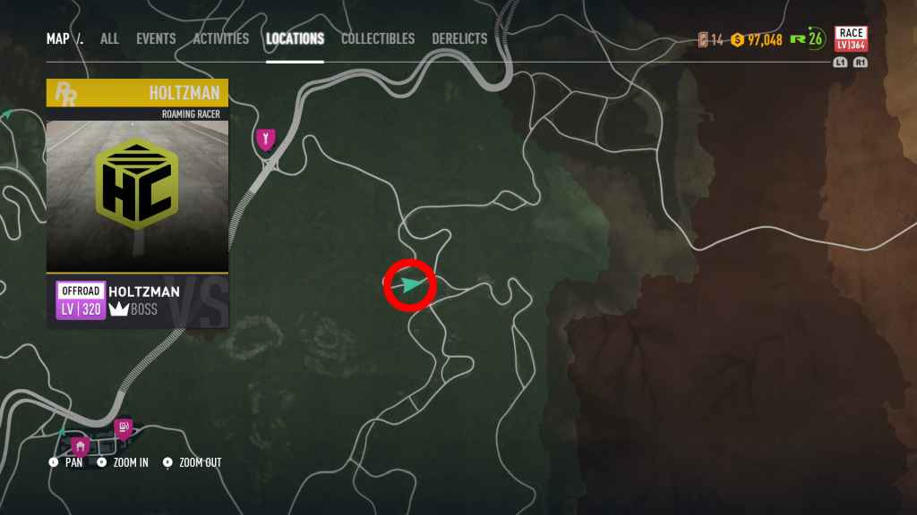 Need For Speed Payback All Roaming Racer Locations