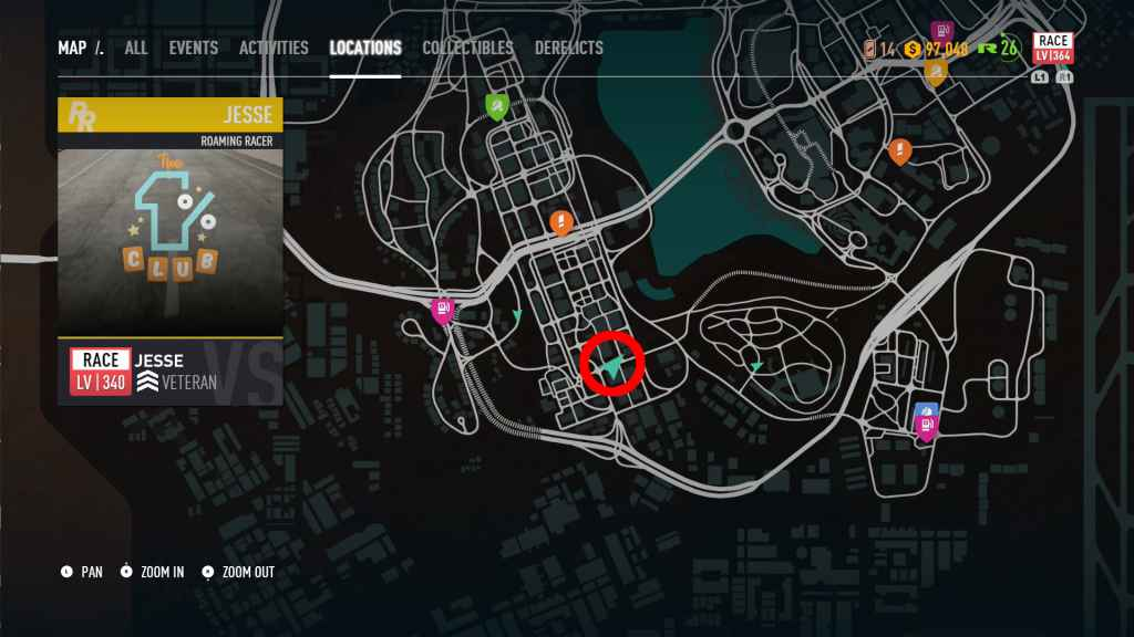 Nfs Payback Karte.Need For Speed Payback All Roaming Racer Locations