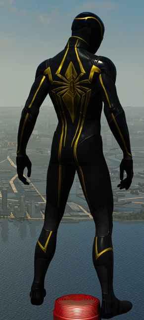 Black Spiderman Comic Marvel's Spider-Man (2...